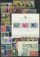 SAMMLUNGEN **, Komplette Postfrische Sammlung Liechtenstein Von 1961-70, Prachterhaltung - Liechtenstein