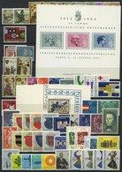 SAMMLUNGEN **, Komplette Postfrische Sammlung Liechtenstein Von 1961-69, Prachterhaltung - Liechtenstein