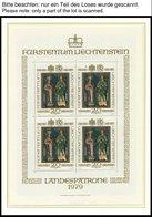 SAMMLUNGEN, LOTS KB **, Komplette Postfrische Sammlung Kleinbogen Und Kleinbogensätze Von 1979-83 In 2 Borek Falzlosalbe - Liechtenstein