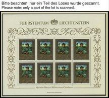 LOTS A. 797-903KB **, 1982-86, 7 Blocks Komplett, Pracht, Mi. 137.- - Liechtenstein