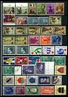 SAMMLUNGEN, LOTS Aus 404-1025 **, 1961-91, Kleine Dublettenpartie, Pracht, Mi. Ca. 500.- - Liechtenstein