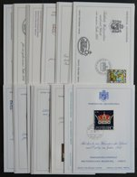 LOTS 1971-95, Glückwunschkarten Komplett, Prachterhaltung, Mi. 89.50 - Liechtenstein
