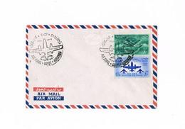 Egitto - Egypt - Air Mail - 25th Anniversary Egyptian Air Force - 1957 - Luchtpost