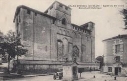 24 - Dordogne - Grand-Brassac - Eglise Du XIIe.S - Monument Historique - France