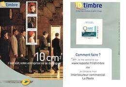 Document Postal-  Créez Vos Timbres- Timbre: A.M.F- - France