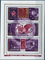 BK048 Lot Mit 3 Werten, Russland/UdSSR 1973, 3er-Block, Raumfahrt, Postfrisch - Ungebraucht