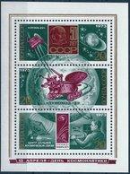 BK049 Lot Mit 3 Werten, Russland/UdSSR 1973, 3er-Block, Raumfahrt, Postfrisch - 1923-1991 UdSSR