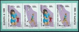 BK050 Lot Mit 4 Werten, CEPT, Europa 1989, Türkei, Postfrisch - 1921-... Republik