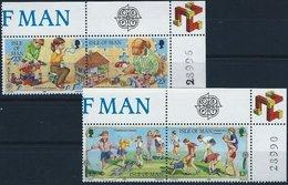 BK051 Lot Mit 4 Werten, CEPT, Europa 1989, Isle Of Man, Postfrisch - Man (Insel)