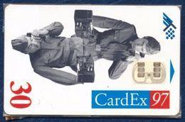 ESTONIA - ESTLAND - ESTONIE 30 UNITS CHIP PHONECARD TELEPHONE CARD CARDEX 97 WORLD WITHOUT WARS MINT SEALED QTY 1.000 - Estonia