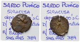 Syracuse Dyonisos I 2,2 G (SNG ANS 389; Calciati 14) - Griegas