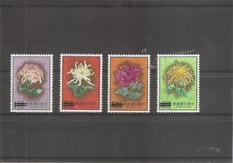 Taiwan -Formose - Fleurs ( 968/971 Surchargés SPECIMEN  XXX -MNh) - Nuovi