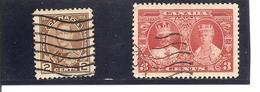 Canada. Nº Yvert  173-75 (usado) (o) - 1911-1935 Reinado De George V