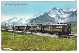 SUISSE - Berninabahn Auf Der Passhohe - Train - Unclassified