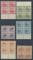 RUANDA-URUNDI 1-18 VB **, 1924, Freimarken In Viererblocks, Postfrischer Prachtsatz - 1916-22: Mint/hinged