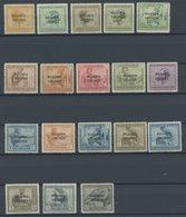 RUANDA-URUNDI 1-18 **, 1924, Freimarken, Postfrischer Prachtsatz - 1916-22: Mint/hinged