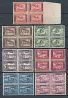 RUANDA-URUNDI 34-42 VB **, 1930, Caritas In Viererblocks, Postfrischer Prachtsatz - 1916-22: Mint/hinged