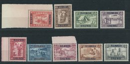 RUANDA-URUNDI 34-42 **, 1930, Caritas, Postfrischer Prachtsatz - 1916-22: Mint/hinged