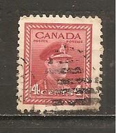 Canada. Nº Yvert  209 (usado) (o) - 1937-1952 Reinado De George VI