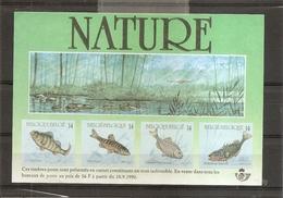 Timbres Sur Timbres ( BF Publicitaire De Belgique De 1990 à Voir) - Stamps On Stamps