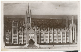 Marischal College, Aberdeen University, 1923 Postcard - Aberdeenshire