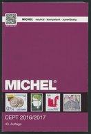 PHIL. KATALOGE Michel: CEPT-Katalog 2016/2017, Alter Verkaufspreis: 58.- - Philatélie Et Histoire Postale