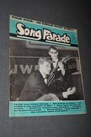 Johnny Halliday,Song Parade Roc N Roll,N° 38 De 1962,complet,nombreuses Photos Dépoque - Objets Dérivés