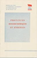 Expo '58 Folder Rusland: Provinces Biogeochimiques Et Endemies - Technical