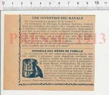 Presse 1913 Ancienne Machine à Coudre Pour Les Plaies Chirurgie Points De Suture Matériel Médical + Pub Haran 223XH - Vieux Papiers