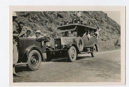 Oldtimer Car Roue De Secours Minibus Voiture Ancienne à Identifier Situer 1910 1920 ? Usa England Tacot Panhard ... - Automobili