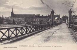 INGRANDES - Entrée De La Ville Par Le Pont Suspendu - Other Municipalities