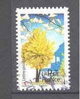France Autoadhésif Oblitéré (Les Arbres : Ginkgo) (cachet Rond) - France