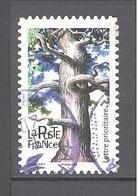 France Autoadhésif Oblitéré (Les Arbres : Chêne Pédonculé) (cachet Rond) - France