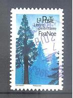 France Autoadhésif Oblitéré (Les Arbres : Séquoia Géant) (cachet Rond) - France