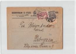 11093 HUNGARY BUDAPEST  TO DEBRECZEN - 1924 - Ungheria