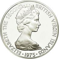 Monnaie, BRITISH VIRGIN ISLANDS, Elizabeth II, Dollar, 1975, Franklin Mint - Islas Vírgenes Británicas