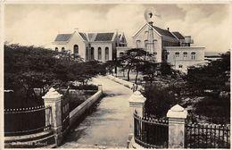 Seltene ALTE  Foto- AK    CURACAO  - St. Thomas School - 1931 Gelaufen - Curaçao