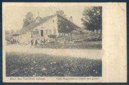 NE Neuchatel Mont Des Verrieres Suisses Café Huguenin Et Dépots Des Postes - NE Neuchâtel