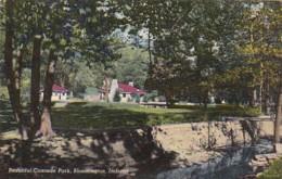 Indiana Bloomington Beautiful Cascade Park Curteich - Bloomington