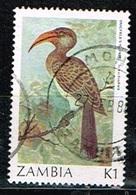 ZAMBIE /Oblitérés/Used/ 1987 - Série Courante/ Oiseaux - Zambie (1965-...)