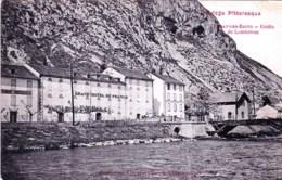 09 - Ariege - USSAT LES BAINS  -  Grotte De Lombrives - Grand Hotel De France - France