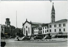 ODERZO  TREVISO  Piazza Del Popolo  Auto  Insegna Corona - Treviso
