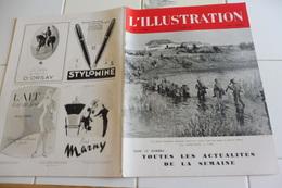 L'ILLUSTRATION 15 AOUT 1942-GUERRE  EGYPTE- PETROLES DU CAUCASE-LE PLATEAU DE L'AUBRAC VILLAGE LAGUIOLE-ARMES DE FRANCE - L'Illustration