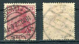 Deutsches Reich Michel-Nr. 197a Vollstempel - Geprüft - Germany