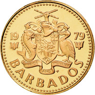 Monnaie, Barbados, Cent, 1979, Franklin Mint, FDC, Bronze, KM:10 - Barbades