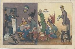 CPA 1900 - PUBLICITE - CHROMOS - LA LAMPE OSRAM - ILLUSTRATEUR VALLEE - Advertising