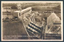 Ireland Eire Limerick Great Turbines Shannon Hydro Electric Scheme Ardnacrusha - Non Classés