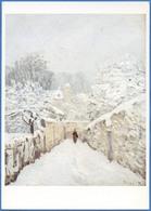 [75] Paris - Musée D'Orsay (Galeries Du Jeu De Paume) Alfred SISLEY - La Neige à Louveciennes, 1878 - Peintures & Tableaux