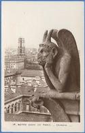 [75] PARIS  NOTRE-DAME DE PARIS - Chimère - Notre Dame De Paris