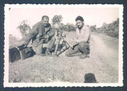 Vietnam Indochine Geodesie Topographie  1952 Photo 6 X 8.5 Cm - Guerre, Militaire